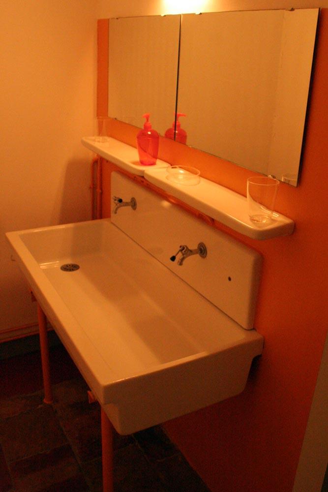 lavabo au 1er